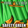 Picture of 550 FireCord - Safety Green - 25 Feet by Live Fire Gear™