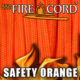Picture of 550 FireCord - Safety Orange - 25 Feet by Live Fire Gear™