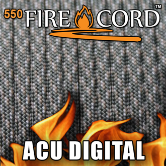 Picture of 550 FireCord - ACU Digital Camo - 25 Feet by Live Fire Gear™