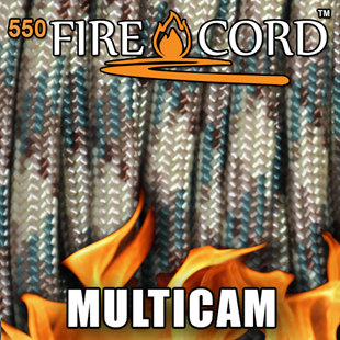 Picture of 550 FireCord - MultiCam - 25 Feet by Live Fire Gear™