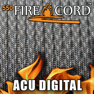 Picture of 550 FireCord - ACU Digital Camo - 50 Feet by Live Fire Gear™