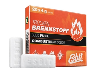 Picture of Esbit® Solid Fuel Tablets 20 x 4 Grams