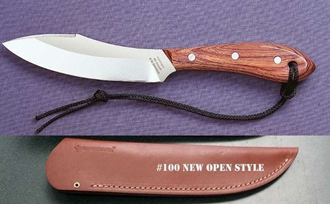 Picture of Grohmann R4SFNOS - #4 | Rosewood | Stainless Steel | Open Sheath