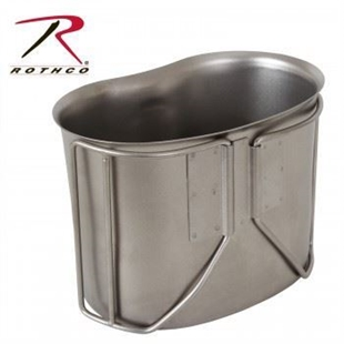 Picture of GI Style Stainless Steel Canteen Cup by Rothco®
