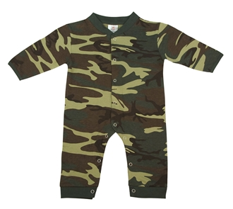 Picture of BLOWOUT - Infant Camo Long Sleeve and Leg One-piece Bodysuit by Rothco®