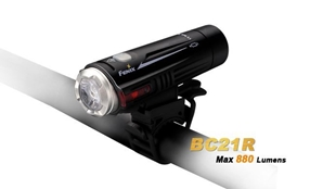 Picture of BC21R Bike Light - Max 880 Lumens by Fenix™ Flashlight