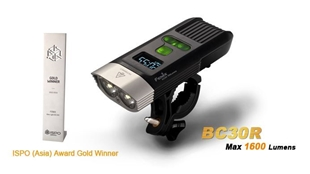 Picture of BC30R Bike Light - Max 1,600 Lumens by Fenix™ Flashlight