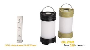 Picture of CL25R Camping Lantern - Max 350 Lumens by Fenix™ Flashlight
