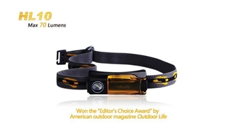 Picture of HL10 Headlamp - Max 70 Lumens by Fenix™ Flashlight