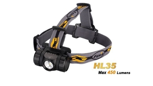Picture of HL35 Headlamp - Max 450 Lumens by Fenix™ Flashlight