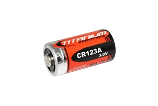 Picture of CR123A 3V Lithium Battery (Pack of 2) by Titanium Innovations®