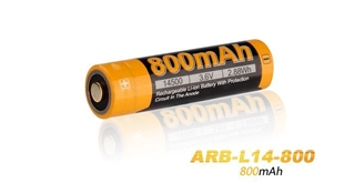 Picture of 14500 ARB-L14-800 Rechargeable Li-ion Battery by Fenix™