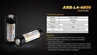 Picture of 26650 ARB-L4-4800 Rechargeable Li-ion Battery by Fenix™