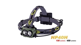 Picture of HP40H Headlamp - Max 450 Lumens by Fenix™ Flashlight