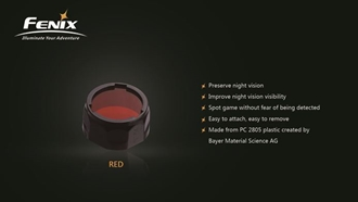 Picture of Filter Adapter Red (AD301) by Fenix™