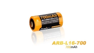 Picture of 16340 ARB-L16-700 Rechargeable Li-ion Battery by Fenix™