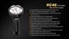 Picture of RC40 2016 Flashlight - Max 6,000 Lumens by Fenix™ Flashlight