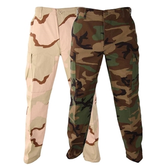 Picture of Discontinued BDU Pants (Button Fly) 50/50 NyCo Rip-Stop by Propper™