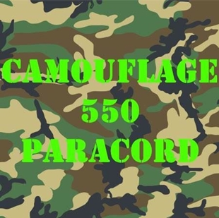 Picture of 100 Foot Camouflage - Nylon 7 Strand Paracord By R&W Rope