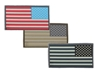 Picture of 3D PVC Patch 2 x 1 Reverse Detailed American Flag