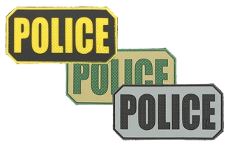Picture of 4 x 2 Police Identification Panel 3D PVC Patch
