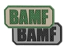 Picture of BAMF 2.25 by 1 Inch 3D PVC Morale Patch by Maxpedition®