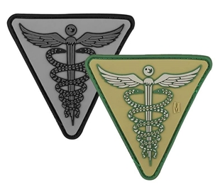 """Picture of Caduceus PVC Patch 2.6"""" x 2.6"""" by Maxpedition®"""