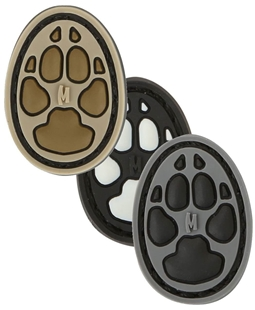 "Picture of Dog Track 1 Inch PVC Patch 0.75"" x 1.0"" by Maxpedition®"