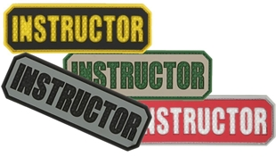 "Picture of INSTRUCTOR PVC Patch 3"" x 1"" by Maxpedition®"