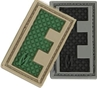 """Picture of LETTER """"E"""" PVC Patch 0.7"""" x 1.18"""" by Maxpedition®"""