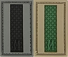 """Picture of LETTER """"I"""" PVC Patch 0.7"""" x 1.18"""" by Maxpedition®"""