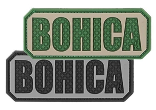 "Picture of BOHICA Patch 2.5"" x 1"" 3D PVC Morale Patch by Maxpedition®"
