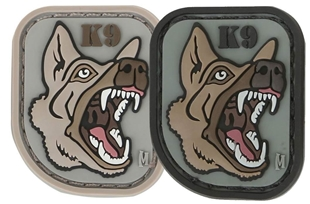 "Picture of German Shepherd 1.2"" x 1.4"" 3D PVC Morale Patch by Maxpedition®"