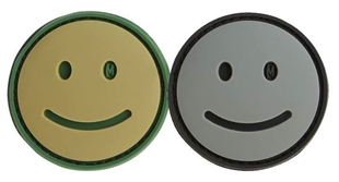 "Picture of Happy Face PVC Patch 1.5"" x 1.5"" by Maxpedition®"
