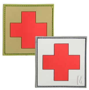 "Picture of Medic PVC Patch 1"" x 1"" by Maxpedition®"