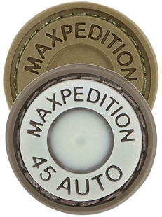"Picture of Max 45 Auto PVC Patch 0.875"" x 0.875"" by Maxpedition®"