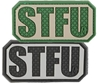 """Picture of STFU PVC Patch 2"""" x 1"""" by Maxpedition®"""
