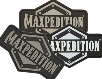 """Picture of Maxpedition Full Logo PVC Patch 3"""" x 2"""" by Maxpedition®"""