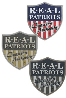"""Picture of Real Patriots PVC Patch 2.75"""" x 2.5"""" by Maxpedition®"""