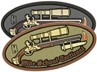 """Picture of Olde School Tacticool PVC Patch 3"""" x 1.45"""" by Maxpedition®"""