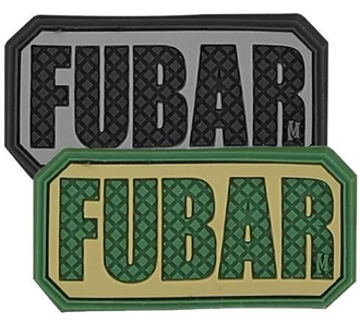 """Picture of FUBAR PVC Patch 2"""" x 1"""" by Maxpedition®"""