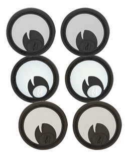 """Picture of Googly Eyes PVC Patch 0.9"""" x 0.9"""" by Maxpedition®"""