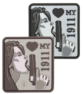 """Picture of Love my 1911 PVC Patch 2.6"""" x 2.8"""" by Maxpedition®"""