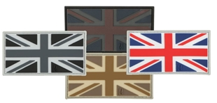 "Picture of UK Flag PVC Patch 3"" x 1.6"" by Maxpedition®"