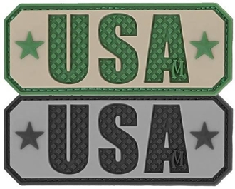 """Picture of USA PVC Patch 2.5"""" x 1"""" by Maxpedition®"""