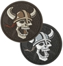 """Picture of Viking Skull PVC Patch 2.4"""" x 2.4"""" by Maxpedition®"""