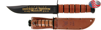 Picture of US NAVY Operation Enduring Freedom Commemorative Knife by KA-BAR®