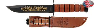 Picture of US ARMY Operation Enduring Freedom Commemorative Knife by KA-BAR