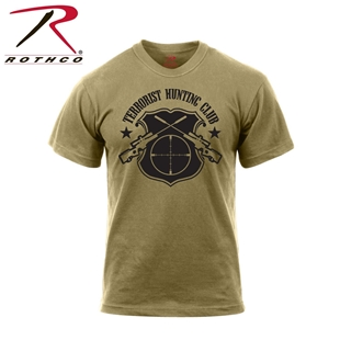 Picture of Terrorist Hunting Club T-Shirts by Rothco®