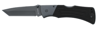 G10 MULE Folder with Tanto Blade  Open